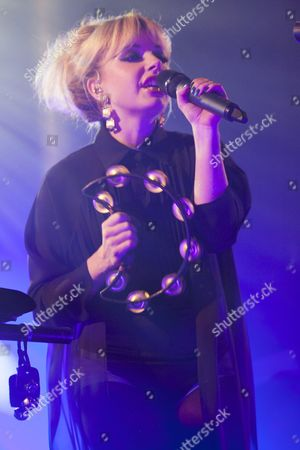 Victoria Hesketh, aka Little Boots performs at Heaven, London, 28/11/13