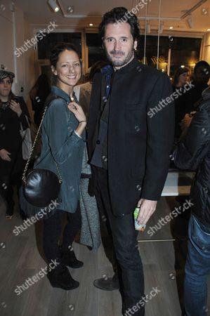 Stock Photo of Charlie Gardner and Lorraine Von Wky