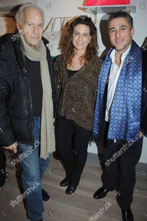 David Montgomery, Francesca Versace and Luca Del Bono