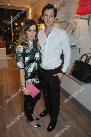 Stock Picture of Melissa del Bono and husband Douglas Ker