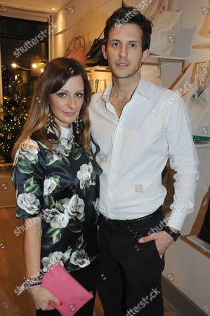 Stock Photo of Melissa del Bono and husband Douglas Ker
