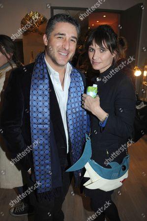 Luca Del Bono and Sheherazade Goldsmith