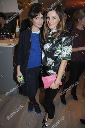 Sheherazade Goldsmith and Melissa del Bono