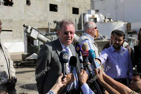 Editorial photo of The United Nations Special envoy for the Middle East, Robert H. Serry in Gaza City, Palestinian Territories - 28 Nov 2013