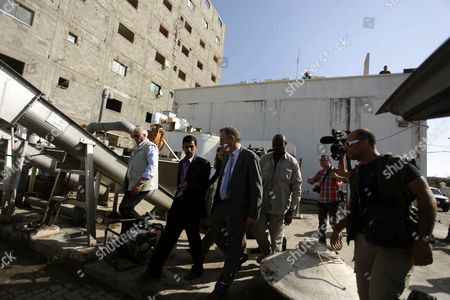 Editorial image of The United Nations Special envoy for the Middle East, Robert H. Serry in Gaza City, Palestinian Territories - 28 Nov 2013