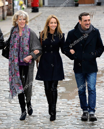 Sue Nichols, Samia Ghadie and Chris Gascoigne
