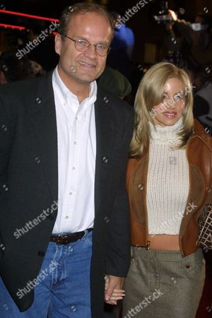 Kelsey Grammer with wife Camille Donatacci