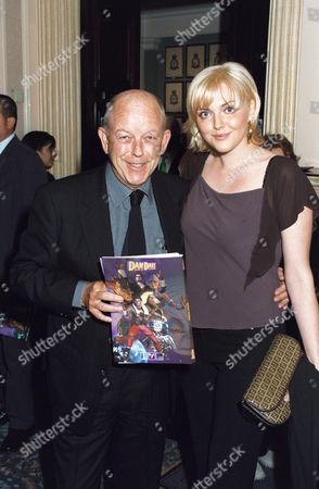 Stock Photo of SOPHIE DAHL AND FATHER JULIAN HOLLOWAY