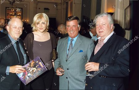 TERRY WOGAN WITH SOPHIE DAHL AND FATHER JULIAN HOLLOWAY (LEFT)