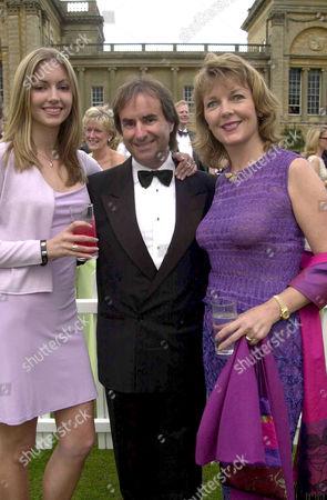 CHRIS DE BURGH, DAUGHTER ROSANNA DAVISON AND WIFE DIANE
