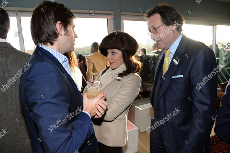 Jack Freud, Joan Collins and Percy Gibson