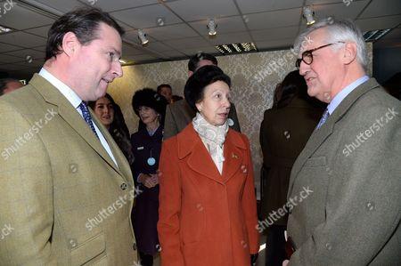 Jo Thornton, Princess Anne and Maurice-Richard Hennessy