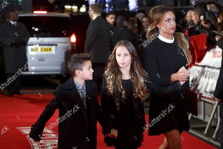 Stock Image of Stacey Cooke and children