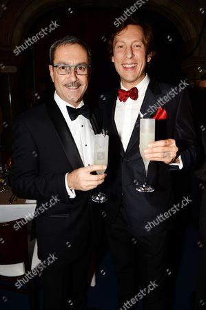 Editorial image of The Elton John AIDS Foundation The Love is in my Blood Winter Dinner at Grey Goose Fly Beyond Bar, London, Britain - 30 Nov 2013