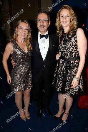 Debbie Pinder, Francois Thibault and Helen Francis