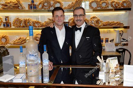 Nigel Peters and Francois Thibault