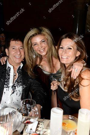 Jimmy Lahoud, Lisa Tchenguiz Imerman and Isabell Kristensen
