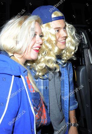 Gillian Orr and Harry Styles