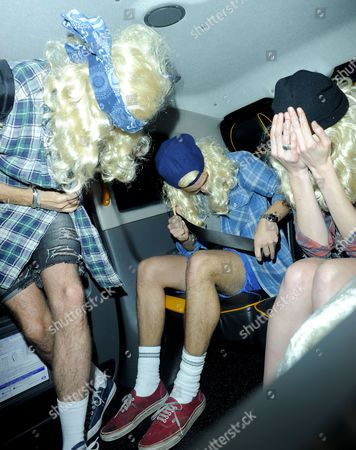 Nick Grimshaw, Harry Styles and Gillian Orr