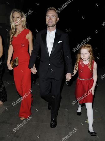 Storm Uechtritz, Ronan Keating and Ali Keating