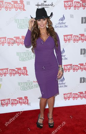 Editorial picture of Hollywood Christmas Parade benefiting Marine Toys for Tots, Los Angeles, America - 01 Dec 2013