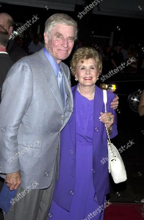 Charlton Heston AND WIFE LYDIA CLARKE HESTON