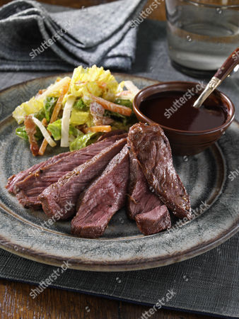 Stock Picture of Slices of venison