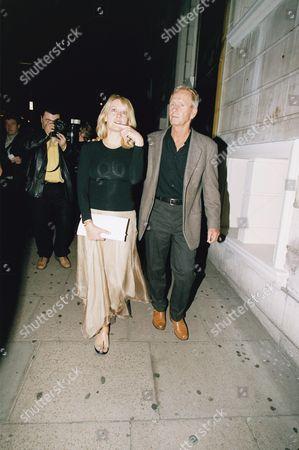 PAUL HOGAN AND WIFE LINDA KOZLOWSKI - JULY, 2001