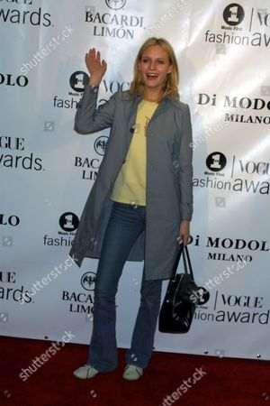 Amy Wesson arriving to the 2001 VH1/Vogue Fashion Awards after-party, sponsored by DiModolo Jewelry, at The Park in New York City on October 19, 2001.  Manhattan, New York  Photo® Matt Baron/BEI