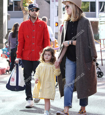 Editorial image of Jason Schwartzman and family out and about, Los Angeles, America - 01 Dec 2013