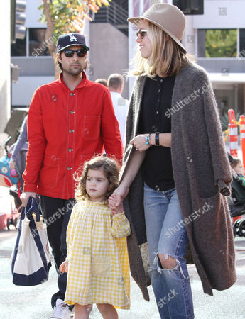 Stock Picture of Jason Schwartzman, Brady Cunningham, with daughter Marlowe