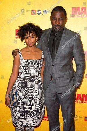 Lindiwe Matshikiza and Idris Elba