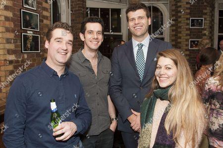 Stock Photo of Mike Thacker, Dave Palmer, Gareth Owen and Sarah Dickinson