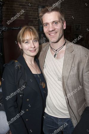 Stock Picture of Sarah Wildor and Adam Cooper