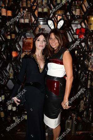 Annabelle Neilson and Countess Debonnaire von Bismarck