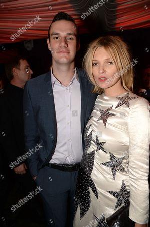 Cooper Hefner and Kate Moss