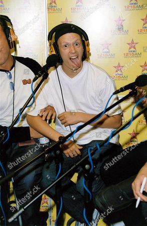 Editorial picture of EX BIG BROTHER CONTESTANT MEETING FOR THE FIRST TIME AT VIRGIN RADIO STATION LONDON, BRITAIN - 27 JUL 2001
