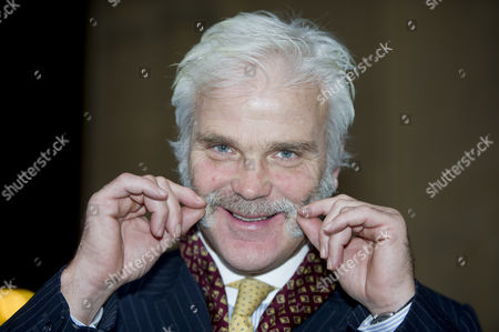 Mp Desmond Swayne Shows Off His Moustache At Westminster. For Quentin Letts Weekend Column.