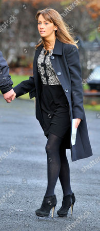 Coronation Street Actor Bill Tarmey Funeral At Albion United Reform Church Ashton-under-lyne Manchester.- Actress Samia Smith.