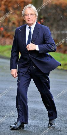 Coronation Street Actor Bill Tarmey Funeral At Albion United Reform Church Ashton-under-lyne Manchester.- Actor William Roache.
