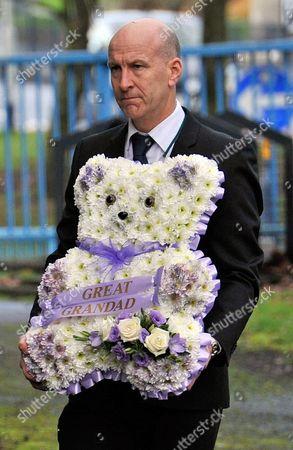 Coronation Street Actor Bill Tarmey Funeral At Albion United Reform Church Ashton-under-lyne Manchester.-.