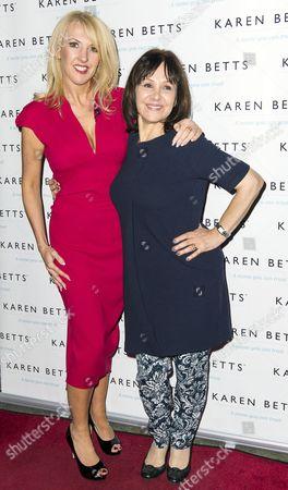 Karen Betts and Arlene Phillips