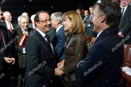 Francois Hollande and Anne Lauvergeon