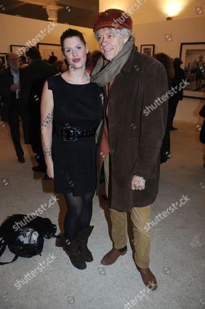 Fifi Geldof and Bob Geldof