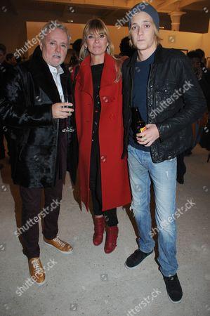 Roger Taylor, Deborah Leng and Rufus Taylor