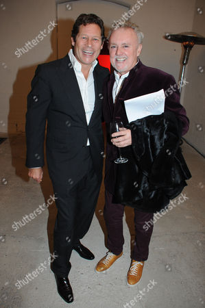 Arpad Busson and Roger Taylor