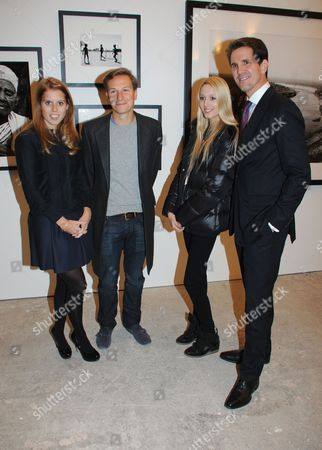 Princess Beatrice, Dave Clark, Princess Maria-Olympia of Greece and Denmark and Prince Pavlos of Greece and Denmark