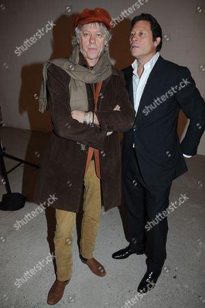 Bob Geldof and Arpad Busson