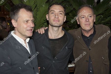Michael Grandage, Jude Law and Richard Clifford
