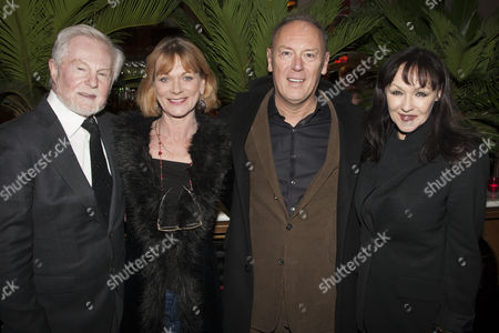 Derek Jacobi, Samantha Bond, Richard Clifford and Frances Barber